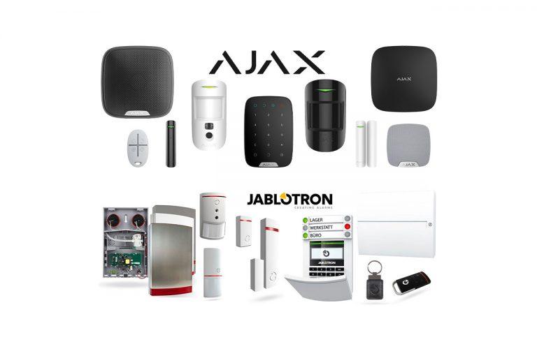 Alarmanlagen AJAX Jablotron
